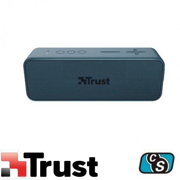 PARLANTE BLUETOOTH TRUST ZOWY MAX STYLISH AZUL