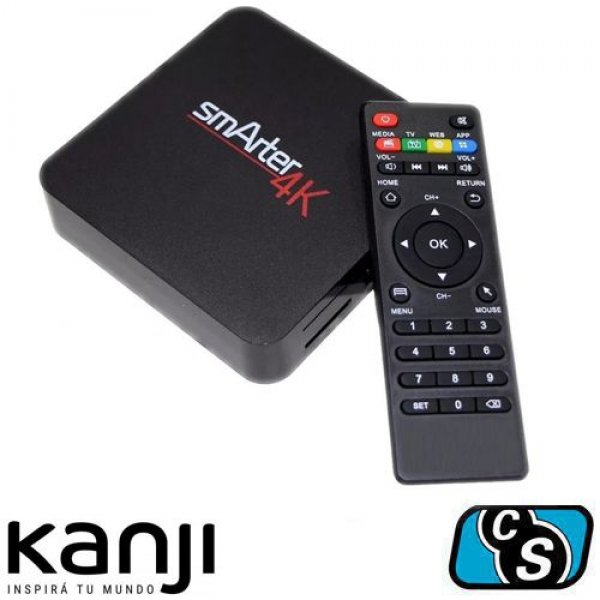 SMARTER 4K HACE SMART TU TV CON ANDROID TV BOX