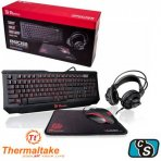 KIT GAMER THERMALTAKE KNUCKER 4 IN 1 KIT   KEYBOARD, HEADSET, MOUSE AND MOUSEPAD